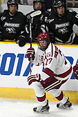 Lewis Zerter-Gossage (Harvard - 77) - The Harvard University Crimson defeated the Providence College Friars 3-0 in their NCAA East regional semi-final on Friday, March 24, 2017, at Dunkin' Donuts Center in Providence, Rhode Island.