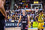Brad LOESING (#35 S.Oliver Baskets Wuerzburg) \ beim Spiel in der BBL, MHP Riesen Ludwigsburg - S.Oliver Baskets Wuerzburg.<br /> <br /> Foto &copy; PIX-Sportfotos *** Foto ist honorarpflichtig! *** Auf Anfrage in hoeherer Qualitaet/Aufloesung. Belegexemplar erbeten. Veroeffentlichung ausschliesslich fuer journalistisch-publizistische Zwecke. For editorial use only.
