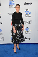 Amanda Peet at the 2017 Film Independent Spirit Awards on the beach in Santa Monica, CA, USA 25 February  2017<br /> Picture: Paul Smith/Featureflash/SilverHub 0208 004 5359 sales@silverhubmedia.com