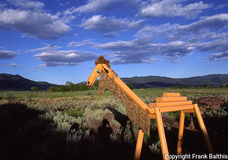 Sculpture at Taos