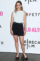 "LOS ANGELES, CA, USA - MAY 05: Nathalie Love at the Los Angeles Premiere Of Tribeca Film's ""Palo Alto"" held at the Directors Guild of America on May 5, 2014 in Los Angeles, California, United States. (Photo by Celebrity Monitor)"