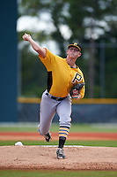 Pittsburgh Pirates pitcher Mitch Keller (87) during an instructional league intrasquad black and gold game on September 18, 2015 at Pirate City in Bradenton, Florida.  (Mike Janes/Four Seam Images)