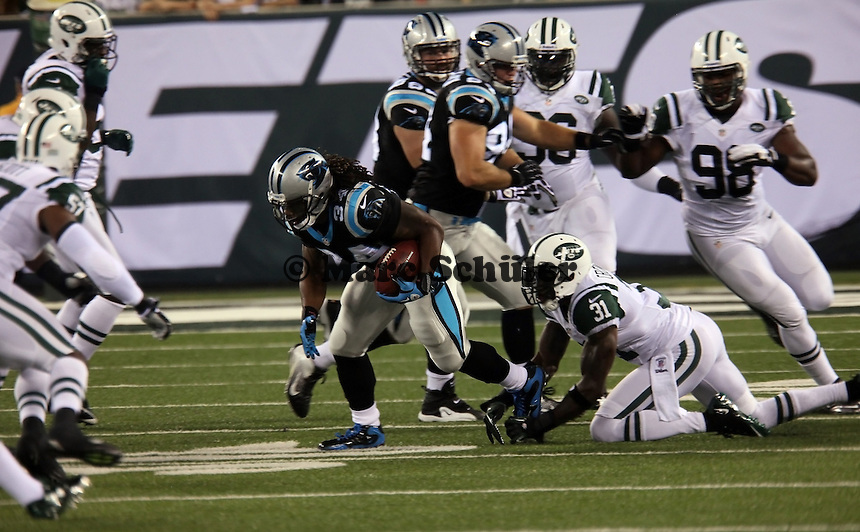 RB DeAngelo Williams (Panthers) gegen CB Antonio Cromartie (Jets)