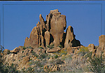 Joshua Tree National Park,  rock formations near Mastodon Peak