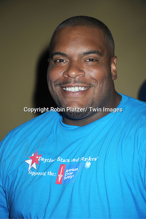 Sean Ringgold attends the Daytime Stars and Strike Charity Event benefitting The American Cancer Society on October 7, 2012 at Bowlmor Lanes in Times Square in New York City.