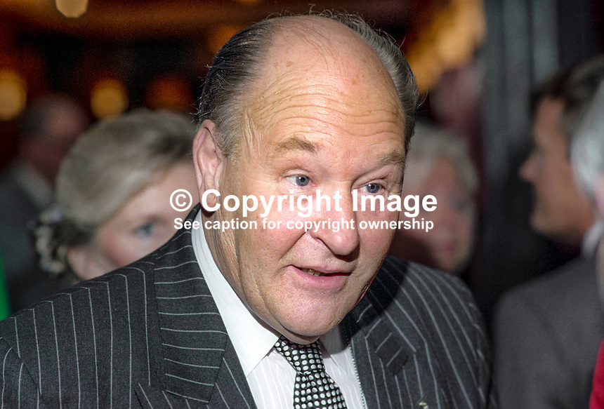 Dr John G Blackburn, MP, Conservative Party, UK, October, 1993, 1993108215<br /><br />Copyright Image from Victor Patterson, 54 Dorchester Park, <br />Belfast, UK, BT9 6RJ<br /><br />t1: +44 28 9066 1296 (from Rep of Ireland 048 9066 1296)<br />t2: +44 28 9002 2446 (from Rep of Ireland 048 9002 2446)<br />m: +44 7802 353836<br /><br />victorpatterson@me.com<br />www.victorpatterson.com<br /><br />Please see my Terms and Conditions of Use at VICTORPATTERSON.COM. It is IMPORTANT that you familiarise yourself with them.<br /><br />Images used on the Internet must be visibly watermarked i.e. &copy;VICTORPATTERSON.COM within the body of the image and copyright metadata must not be deleted. Images used on the Internet have a size restriction of 4kbs and are chargeable at the then current NUJ rates.<br /><br />This image is only available for the use of the download recipient i.e. television station, newspaper, magazine, book publisher, etc, and must not be passed on to any third party. It is also downloaded on condition that each and every usage is notified within 7 days to victorpatterson@me.com<br /><br />The right of Victor Patterson to be identified as the author is asserted in accordance with The Copyright Designs And Patents Act (1988).