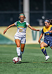 1 September 2019: University of Vermont Catamount Defender/Forward Natalie Durieux, a Sophomore from Williston, VT, in action against the Merrimack College Warriors in Game 3 of the TD Bank Women's Soccer Classic at Virtue Field in Burlington, Vermont. The Lady Warriors rallied in the second half to defeat the Catamounts 2-1. Mandatory Credit: Ed Wolfstein Photo *** RAW (NEF) Image File Available ***