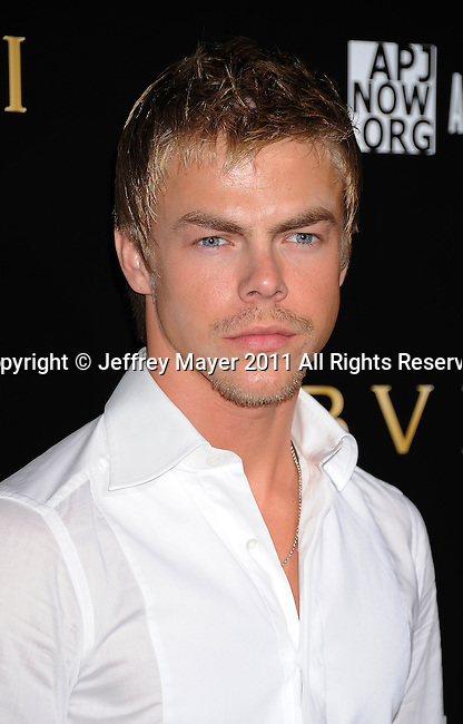LOS ANGELES, CA - January 13: Derek Hough attends Save The Children's U.S. Programs And Artists For Peace And Justice Hosted By Bulgari at Ron Burkle's Green Acres Estate on January 13, 2011 in Beverly Hills, California.