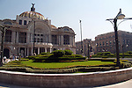 The palace has a mixture of architectural styles; however, it is principally Art Nouveau and Art Deco, culture, palace of fine arts