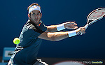 Del Potro loses at Australian Open in Melbourne Australia on 19th January 2013