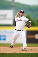 Binghamton Mets starting pitcher Tyler Pill (20) during a game against the Trenton Thunder on May 29, 2016 at NYSEG Stadium in Binghamton, New York.  Trenton defeated Binghamton 2-0.  (Mike Janes/Four Seam Images)
