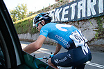 Mikel Landa (ESP) Movistar Team didn't finish so had time for a chat during the 2019 Clasica Ciclista San Sebastian, running 227.3km starting and finishing in Donostia-San Sebastián, Spain. 3rd August 2019.<br /> Picture: Colin Flockton | Cyclefile<br /> All photos usage must carry mandatory copyright credit (© Cyclefile | Colin Flockton)