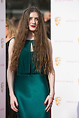 London, UK. 8 May 2016. English singer Birdy. Red carpet  celebrity arrivals for the House Of Fraser British Academy Television Awards at the Royal Festival Hall.