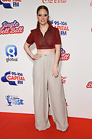 LONDON, UK. December 09, 2018: Jess Glynne at Capital&rsquo;s Jingle Bell Ball 2018 with Coca-Cola, O2 Arena, London.<br /> Picture: Steve Vas/Featureflash