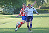 Victoria Park Royals (red/white/blue) drew with Talbot Pub (White) 2-2 in the last game of the Bournemouth Sunday League division 6 .3rd April 2011.