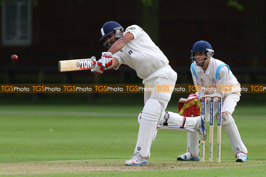 Ravi Bopara in batting action for Essex - Cambridge MCCU vs Essex CCC - Pre-Season Friendly Cricket Match at Fenners Ground, Cambridge - 07/04/14 - MANDATORY CREDIT: Gavin Ellis/TGSPHOTO - Self billing applies where appropriate - 0845 094 6026 - contact@tgsphoto.co.uk - NO UNPAID USE