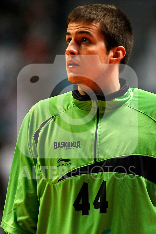 Caja Laboral´s Nemanja Bjelica during La Liga ACB Playoffs semifinal last match, Madrid 2012/June/02..(ALTERPHOTOS/ARNEDO)
