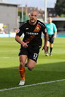 Luke Coulson of Barnet during the Sky Bet League 2 match between Barnet and Grimsby Town at The Hive, London, England on 29 April 2017. Photo by David Horn.