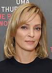 Uma Thurman attends the Meet & Greet Photo Call for the cast of Broadways 'The Parisian Woman' at the New 42nd Street Studios on October 18, 2017 in New York City.