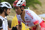 Jhon Darwin Atapuma Hurtado (COL) Cofidis on the final Cat 1 climb up to Observatorio Astrofisico de Javalambre during Stage 5 of La Vuelta 2019 running 170.7km from L'Eliana to Observatorio Astrofisico de Javalambre, Spain. 28th August 2019.<br /> Picture: Eoin Clarke | Cyclefile<br /> <br /> All photos usage must carry mandatory copyright credit (© Cyclefile | Eoin Clarke)