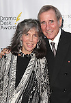 Julia Schafler and Jim Dale.attending the 57th Annual Drama Desk Awards held at the The Town Hall in New York City, NY on June 3, 2012.
