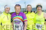 Joggers<br /> ----------<br /> Taking part in the Ballybunion 10k and half marathon last Saturday were L-R Joan Heaslip, Mark Doody, Barbara Commane with Thecla Heaslip.