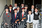 St Brendans college students  who performed Bugsy Malone in the Killarney racecourse on sunday night front row l-r: Jason Hanafin Evan Cosgrave, Keenan Daly, Darren Looney, Kevin Lavery, back row:  Benjamin Havesele, Stephen McKenna, sean O'sullivan, Jonathan O'Rourke, Sean O'Leary Harry Allen