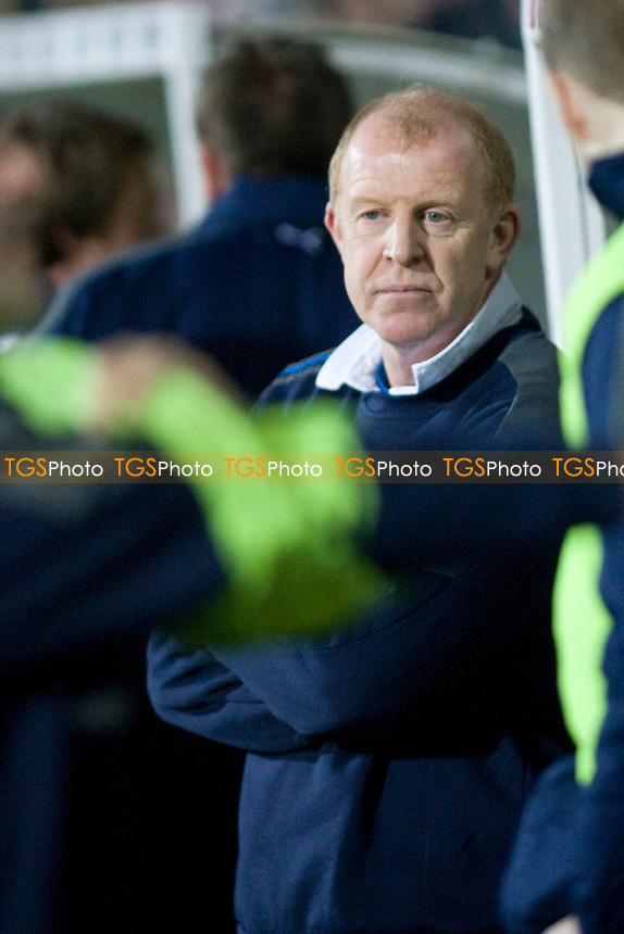 Gary Megson (manager Sheffield Wednesday). - Scunthorpe United vs Sheffield Wednesday - nPower League One Football at Glanford Park - 24/01/12 - MANDATORY CREDIT: Mark Hodsman/TGSPHOTO - Self billing applies where appropriate - 0845 094 6026 - contact@tgsphoto.co.uk - NO UNPAID USE.