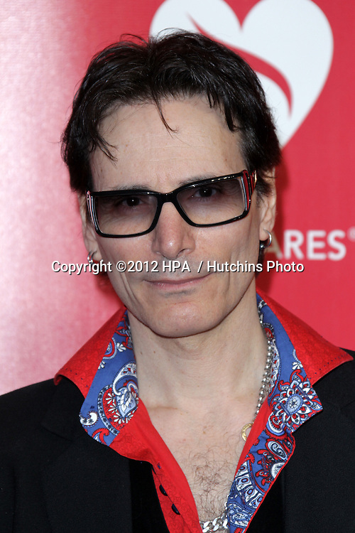 LOS ANGELES - FEB 10:  Steve Vai arrives at the 2012 MusiCares Gala honoring Paul McCartney at LA Convention Center on February 10, 2012 in Los Angeles, CA
