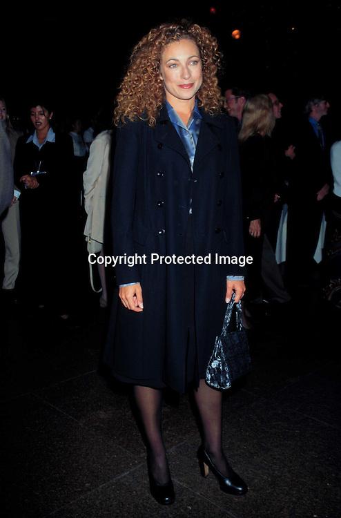 "©KATHY HUTCHINS/HUTCHINS.""BEFORE WOMEN HAD WINGS"" SCREENING 10/20/97.ALEX KINGSTON"