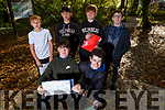 Kerry ETB students go orienteering in the Ballyseedy Woods on Tuesday from Colaiste na Sceilge.<br /> Kneeling l-r, Donnacha Moran and Padraig O&rsquo;Connor.<br /> Back l-r, Ronan Teahan, Josh O&rsquo;Sullivan, Ben Egan and Fionnian Keating.