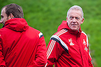 Wednesday  06 January 2016<br /> Pictured:  Swansea Caretaker Manager, Alan Curtis  <br /> Re: Swansea City Training session at the Fairwood training ground, Swansea, Wales, UK