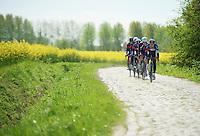 Team IAM Cycling<br /> <br /> 2014 Paris-Roubaix reconnaissance