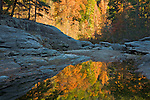 Autumn Reflection at Woodall Shoals, Chattooga National Wild and Scenic River