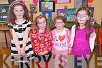 Enjoying the Canvas Art Club exhibition in Kilgarvan. .L-R Orla O'Brien, Cliona Foley, Rebecca and Leah Murphy.