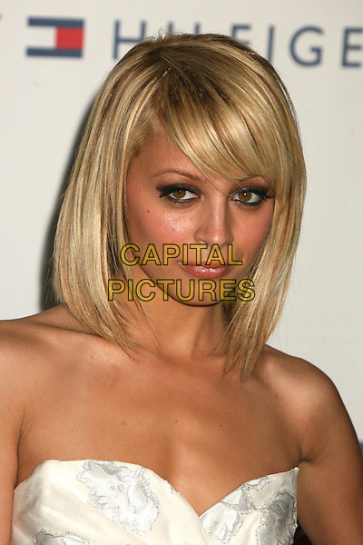 "NICOLE RICHIE.14th Annual Race to Erase MS Themed ""Dance to Erase MS"" at the Century Plaza Hotel, Century City, California, USA, 13 April 2007..portrait headshot strapless dress fringe blonde bob hair .CAP/ADM/BP.©Byron Purvis/AdMedia/Capital Pictures."