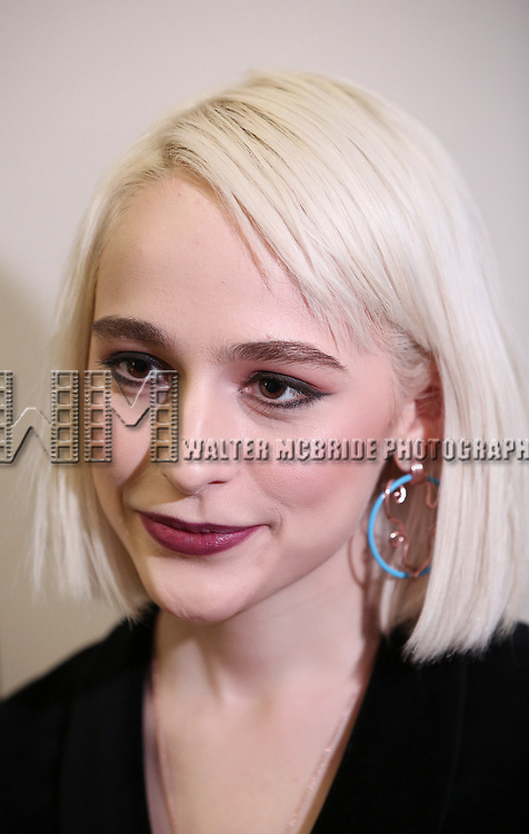 Sophia Anne Caruso attends Broadway's 'Beetlejuice' - First Look Photo Call at Subculture  on February 28, 2019 in New York City.