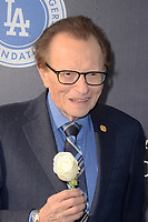 LOS ANGELES - JUN 8:  Larry King at the Los Angeles Dodgers Foundations 3rd Annual Blue Diamond Gala at the Dodger Stadium on June 8, 2017 in Los Angeles, CA