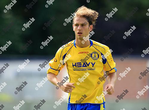 2010-08-25 / Voetbal / seizoen 2010-2011 / SC Merksem / Ben Van Campfort..Foto: Mpics