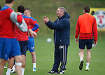 Ally McCoist taking charge of training at Murray Park