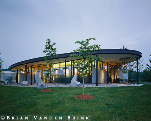 GBA Architects.Rock of Ages.Visitor Center.Barre, Vt.