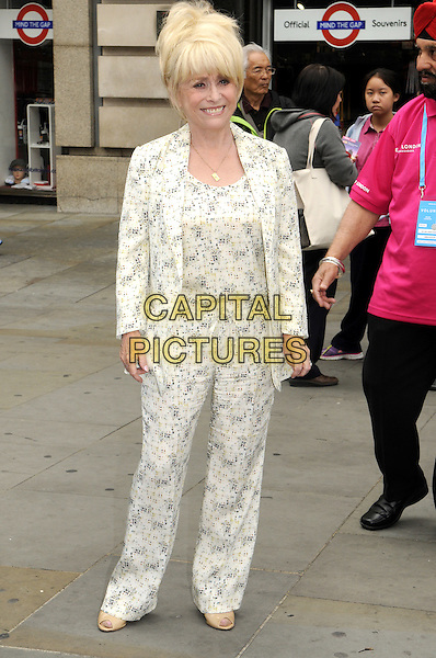 LONDON, ENGLAND - AUGUST 05: Barbara Windsor MBE attends a photocall as Team London ambassadors welcome visitors from around the World on August 5, 2015 in London, England. <br /> CAP/PP <br /> &copy;PP/Capital Pictures