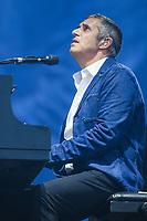 Julien Clerc performs at the Festival d'ete de Quebec in Quebec city Thursday July 14, 2016.