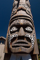 Totem Pole by Robert Cook, Eastsound, Orcas Island, San Juan Islands, Washington, US