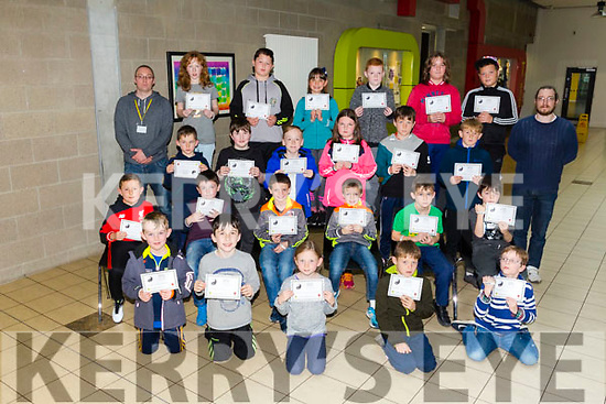 Coder Dojo  Awards at IT Tralee on Saturday were 8-12 beginner  group receiving their awards in Scratch and HTML