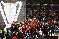 Toronto, Canada - December 9, 2017: Toronto FC defeated the Seattle Sounders FC 2-0 to win the 2017 MLS Cup Championship at BMO Field.