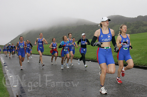 16 JUN 2007 - EDINBURGH, GBR - European Age Group Duathlon Championships (PHOTO (C) NIGEL FARROW)