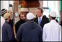 Aug 07 2013 David Cameron Visits The Jamia Mosque