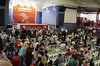 SAO PAULO, SP, 22.05.2015 - LULA-SP - Convidados durante a abertura da etapa estadual de São Paulo do 5º Congresso do Partido dos Trabalhadores na quadra dos Bancários, na região central de São Paulo, SP, nesta sexta-feira, 22. (Foto: Fernando Neves/ Brazil Photo Press/Folhapress)