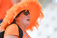 20190620 - REIMS , FRANCE : illustration picture shows the fans  during the female soccer game between The Netherlands  and Canada  , the third game for both teams in group E during the FIFA Women's  World Championship in France 2019, Thursday 20 th June 2019 at the Auguste Delaune Stadium in Reims , France .  PHOTO SPORTPIX.BE | DIRK VUYLSTEKE